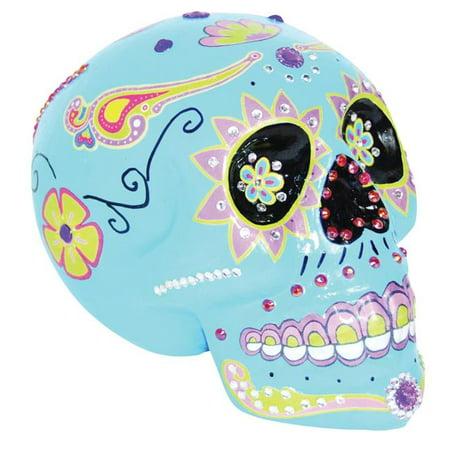 Blue Sugar Skull Costume](Blue Sugar Skull Halloween)