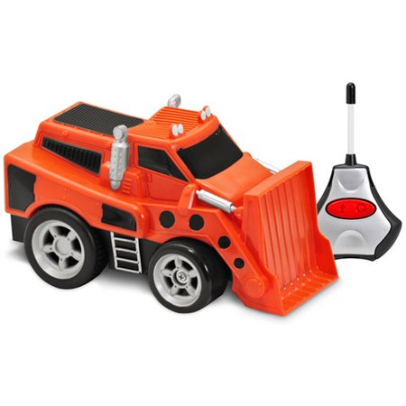 (Kid Galaxy Soft, Safe and Squeezable Remote-Control Bulldozer)