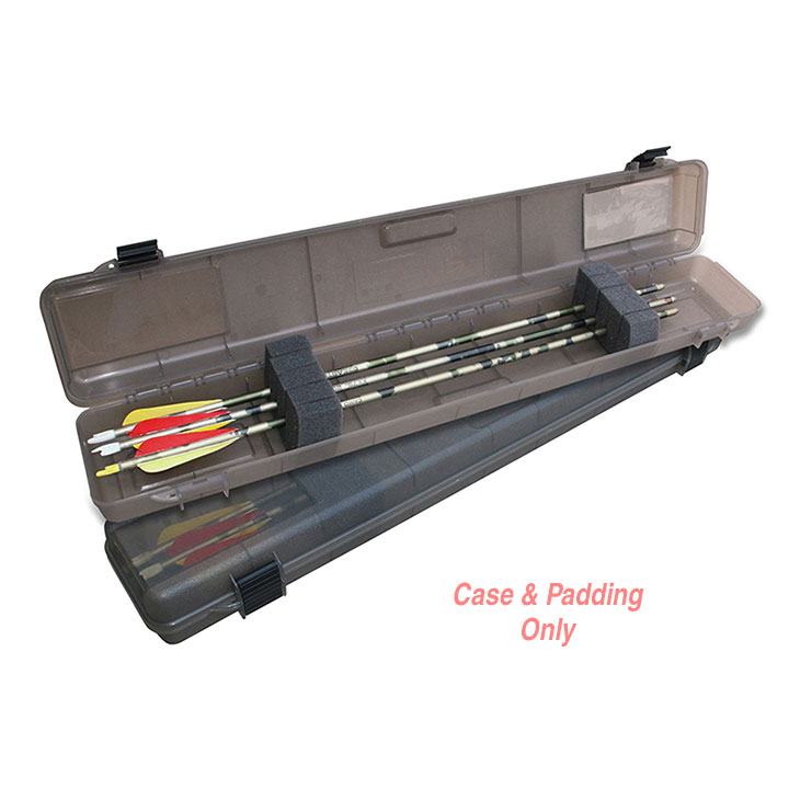 MTM Compact Arrow Case, Holds 12, Clear Smoke