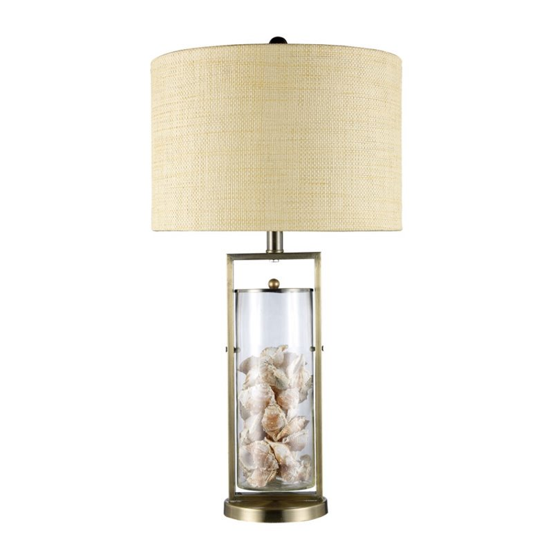 Dimond Lighting Millisle Table Lamp in Antique Brass - image 1 of 1