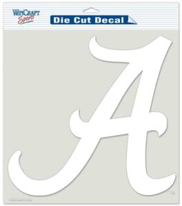 "Alabama Crimson Tide Die-Cut Decal 8""x8"" White by Wincraft by Wincraft, Inc."