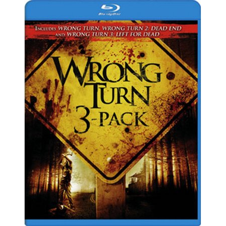 Wrong Turn 3-Pack (Blu-ray)