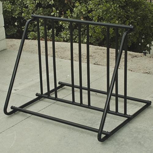 Bicycle Parking Storage Rack 1-6 Bikes Steel Park Stand Black Finish New