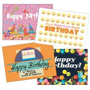 Super Value Birthday Card Assorted Pack