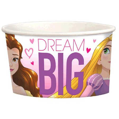 Disney Princess 'Dream Big' Ice Cream Cups - Princess Cups