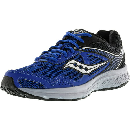 Saucony Men's Grid Cohesion 10 Royal / Black Ankle-High Running Shoe - 10.5M (Saucony Grid Type)
