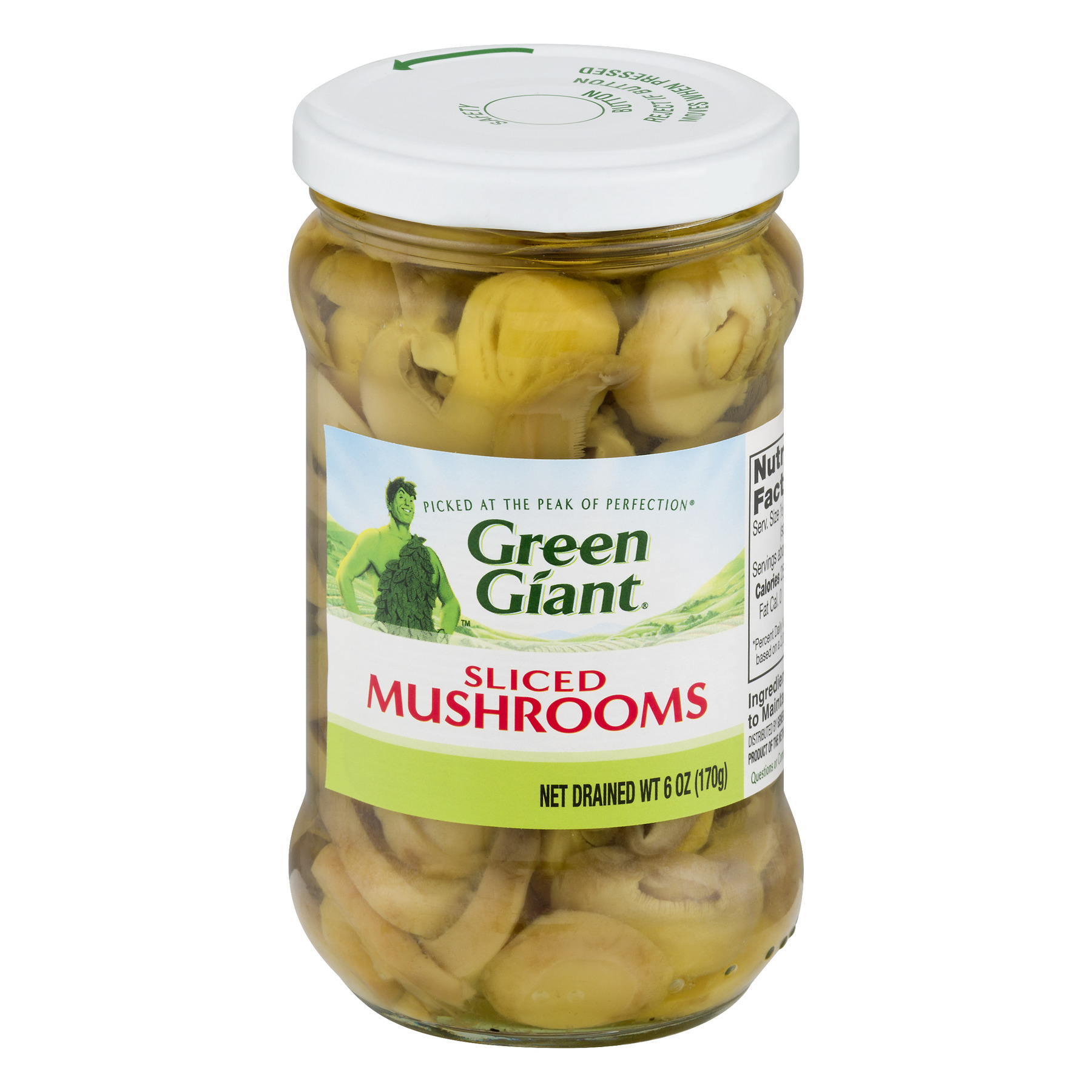 Green Giant Sliced Mushrooms, 6 Oz