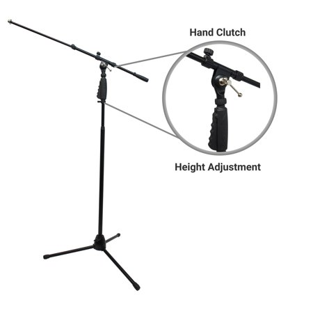 Harmony Audio HA-MICBOOM Pro Live Stage Mic or Studio Boom Microphone Stand (Moho Pro 12 Vs Toon Boom Harmony)