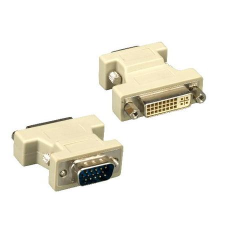 Isdn Analog Adapter (Kentek VGA HD15 HD 15 pin male to DVI analog DVI-A 12+5 pin female M/F adapter connector coupler monitor display PC MAC)