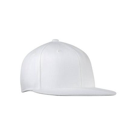 Flat Bill Baseball - Original Port Authority Flat Bill FlexFit Baseball Hat Cap