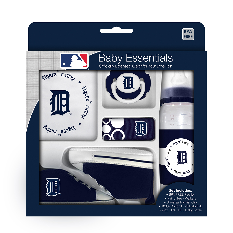 MLB Detroit Tigers 5-Piece Baby Gift Set