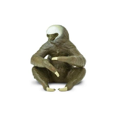 Wild Safari Wildlife Two-Toed Sloth Safari Ltd Animal Educational Toy Figure