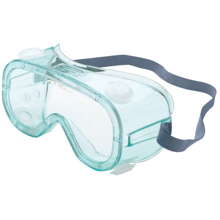North Eye & Face Protection A600 Series Goggles, Clear, Wrap-Around