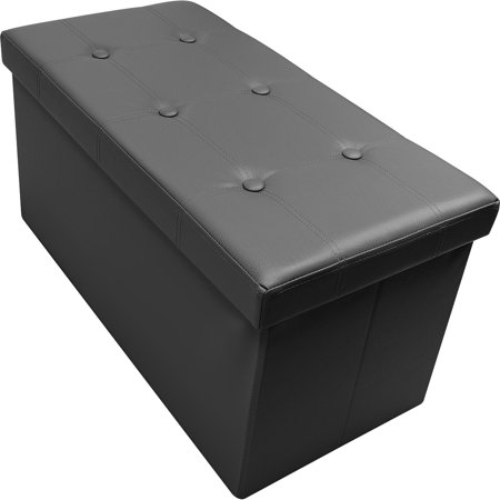 Sorbus Storage Bench Chest Collapsible Folding Bench