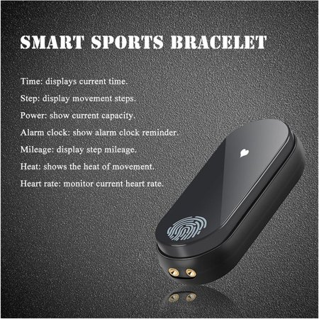 M2 Smart Bracelet Touch Screen Bracelet Heart Rate Monitoring Sports Bracelet - image 3 de 9