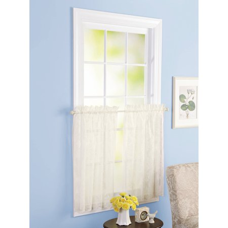 Better Homes & Gardens Cream Lace Valance or Tier -