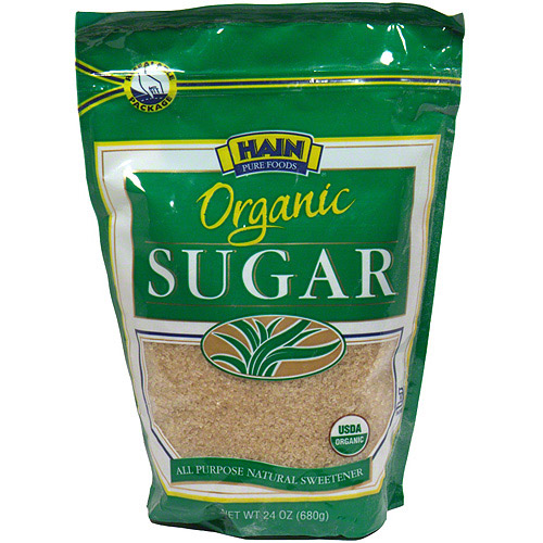 Hain Pure Foods Organic Sugar, 24 oz (Pack of 12)