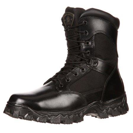 Rocky Work Boots Mens Alphaforce Waterproof Zipper CT