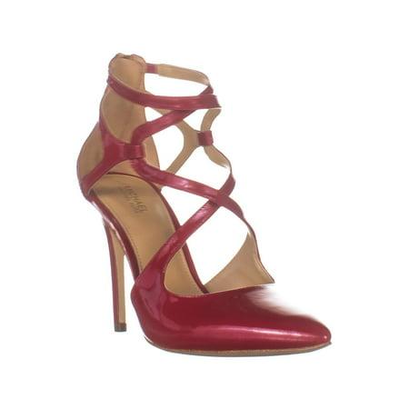 Womens MICHAEL Michael Kors Catia Pump Stilleto Heels, Scarlet