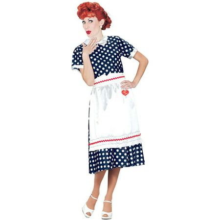 Polka Dot Dress Halloween Costume Ideas (I Love Lucy Polka Dot Dress Adult Halloween)