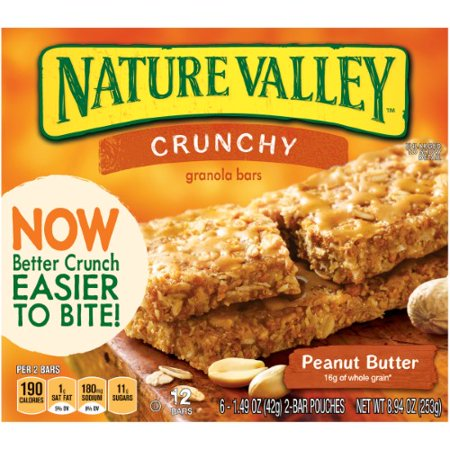 Nature Valley Crunchy Granola Bar, Peanut -