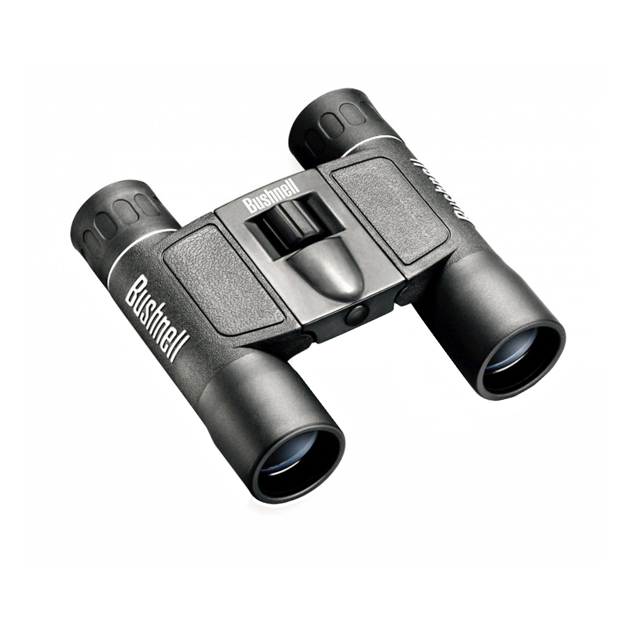 Bushnell, Powerview Binocular, 12X25, Compact, Roof Prism, Black, Rubber by Bushnell