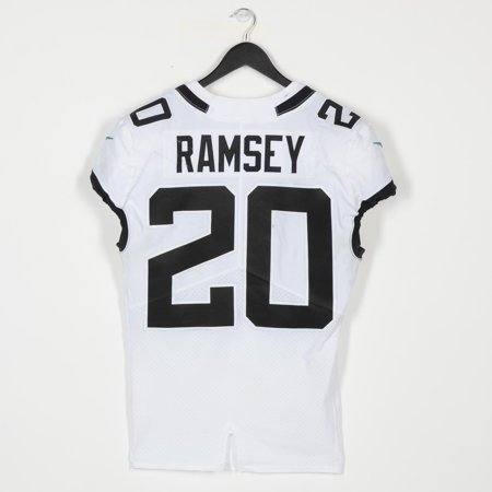uk availability adc19 3551d Jalen Ramsey Jacksonville Jaguars Game-Used White #20 Jersey vs. Miami  Dolphins on December 23, 2018 - Fanatics Authentic Certified