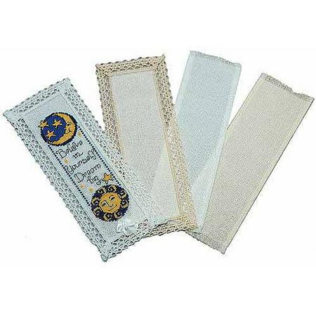 Dmc Lace Edged Bookmark
