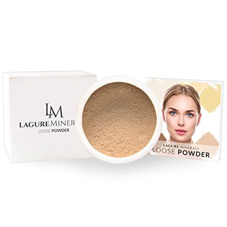 Setting Powder - Perfect For Light To Medium Skin Tones With Yellow