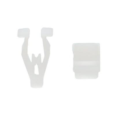 50Pcs 8mm Hole White Plastic Rivet Interior Trim Panel Car Auto Door Clips Door Trim Panel Reflector