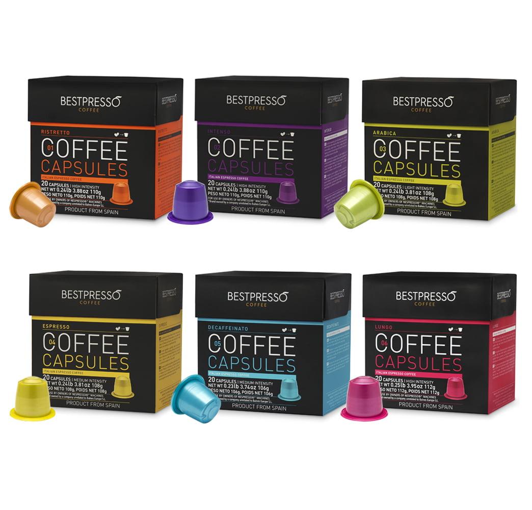nespresso vertuoline capsules nespresso vertuoline coffee espresso capsules pods intenso 10. Black Bedroom Furniture Sets. Home Design Ideas