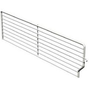 Lozier Store Fixtures BFD322 BCP 3 High x 22 Deep inch Wire Bin Divider - Pack Of 40