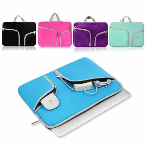 3650a8c66709 Laptop Sleeve Case Carry Bag for Macbook Pro/Air Dell Sony HP 11 12 13 14  15Inch - Pink - 13.3-14.1 Inches Laptop