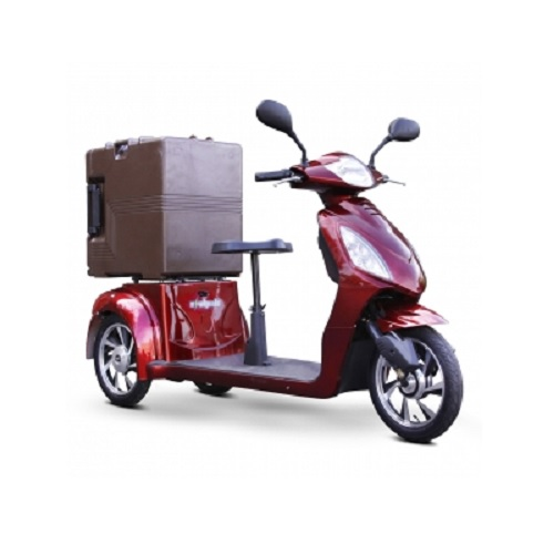 E-Wheels C28 650W Multi-Purpose Electric Utility Vehicle w/ Cargo Box