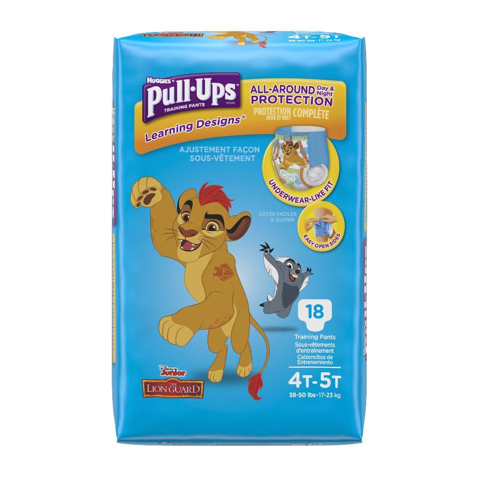 Huggies Pull-Ups Training Pants (Assorted Designs) (Pack of 2)