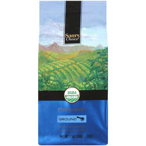 Sam's Choice Organic Medium Roast Ground Coffee, 12 oz
