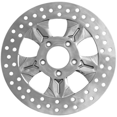 - Ride Wright Wheels Inc 08-13CHIEF/F/POL Chief Polished 11.8in. Brake Rotor