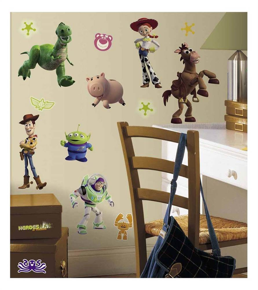 Toy Story 3 Peel and Stick Wall Decals