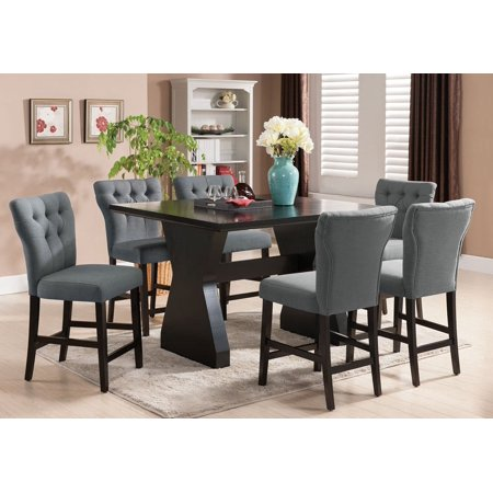 1perfectchoice Effie 7 Pc Counter Height Dining Set