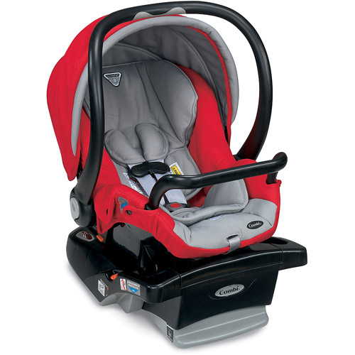 Shuttle Infant Car Seat-Color:Red