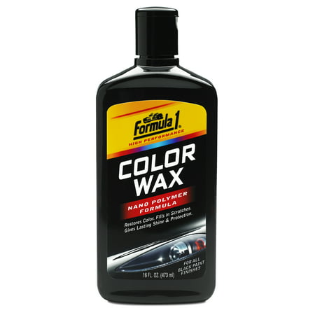 Formula 1 Color Wax - Black 476 Black Wax