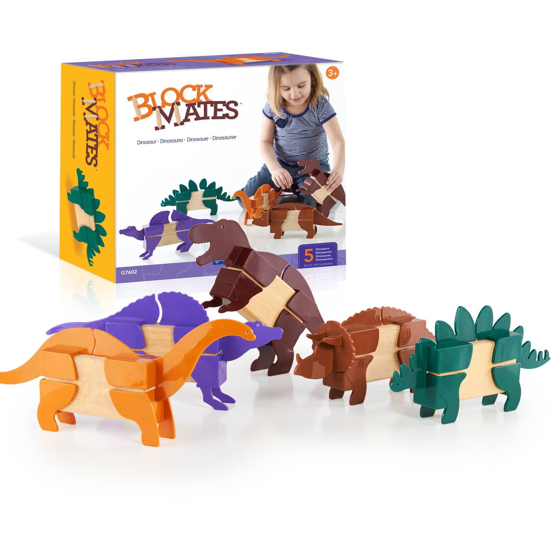Guidecraft Block Mates, Dinosaurs