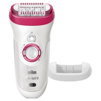 Braun Silk-Epil Wet and Dry Cordless Electric Hair Removal Epilator
