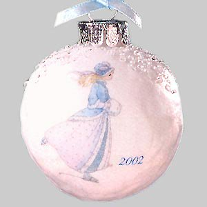 Precious Moments 104059 Make Your Holidays Sparkel 2002 Dated Ornament