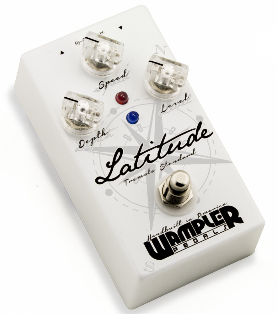 Wampler Latitude Tremolo Pedal by Wampler Pedals