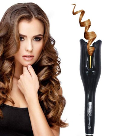 Air Spin N Curl 1 Inch Ceramic Rotating Curler, Automatic Curling Iron Professional Hair Curler for All Hair