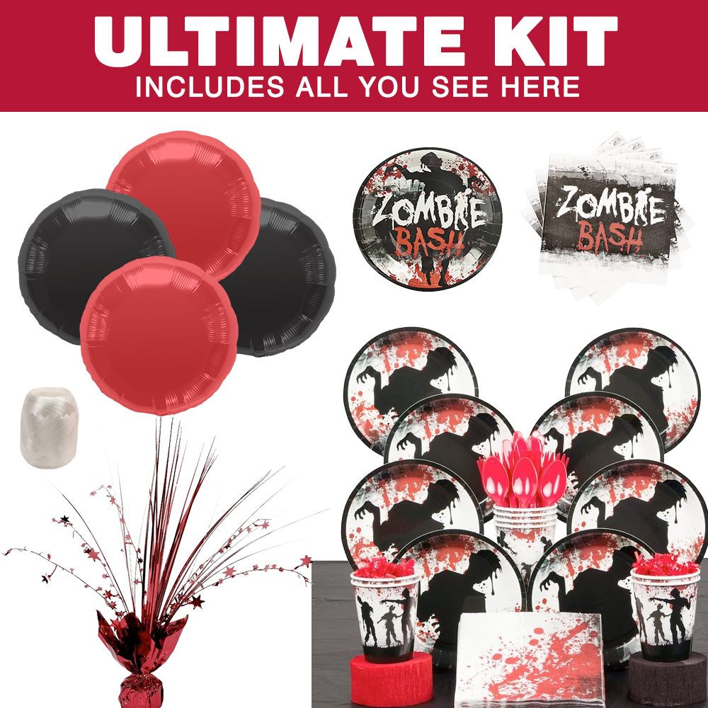 Zombie Party Ultimate Kit (Each) - Halloween Party Supplies