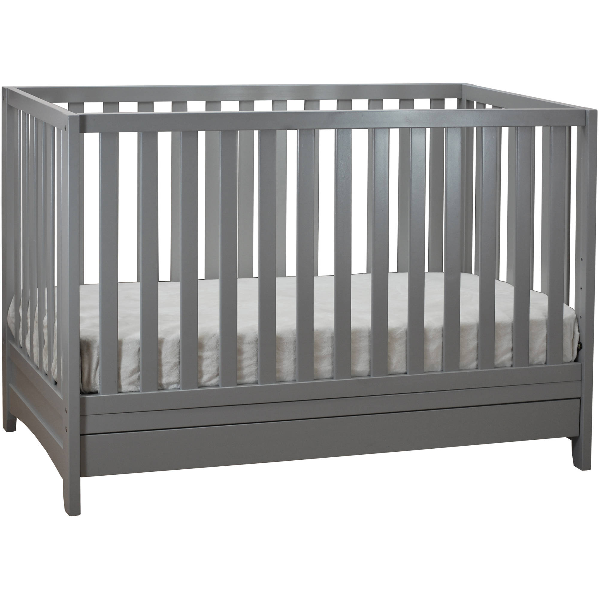 Athena Mila 3-in-1 Convertible Crib with Toddler Guardrail