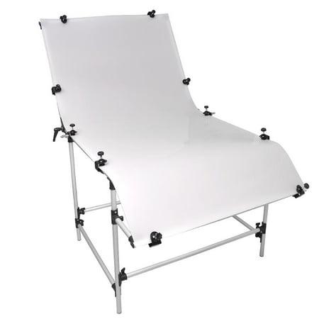 Non-Reflective Photography Photo Studio Shooting Table Plexiglass Cover  Bench (Plexiglass Cover)