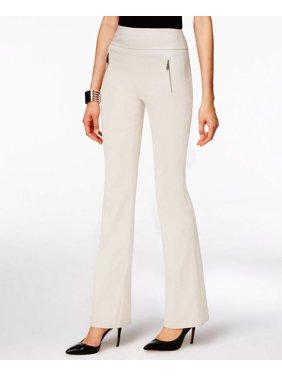 7560dd75c7063 Product Image INC International Concepts Women's Zip-Pocket Wide-Leg Curvy  Fit Pants Size 4
